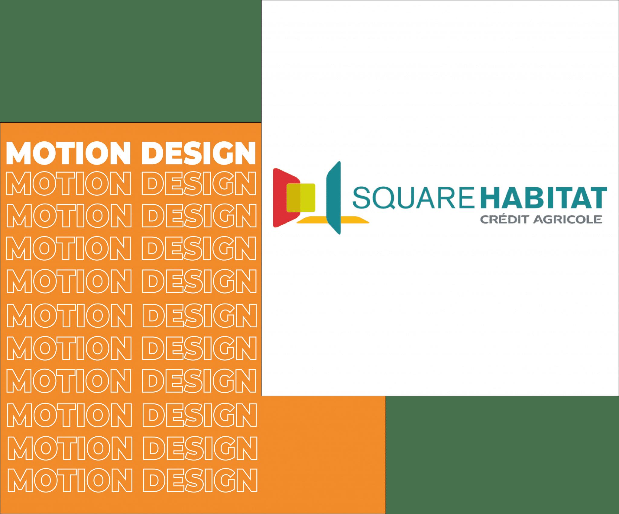 Motion design - Square Habitat I Arkham Studio - agence de gamification