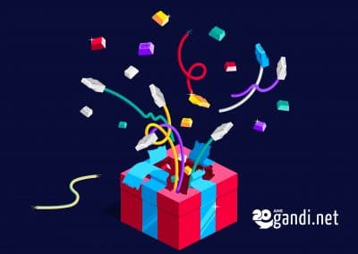 GAMIFICATION OF THE 20TH ANNIVERSARY OF GANDI!
