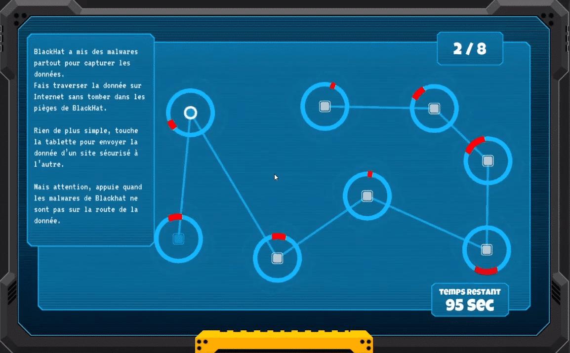 screen mini jeu
