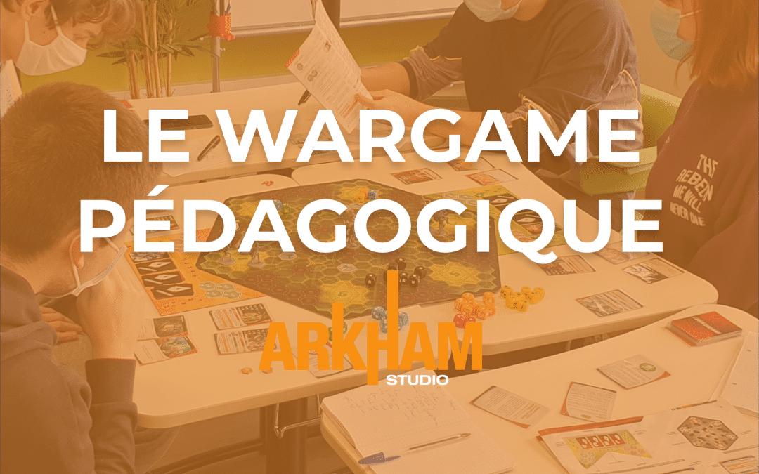 LES WARGAMES, UN OUTIL DE FORMATION LUDIQUE ET ENGAGEANT